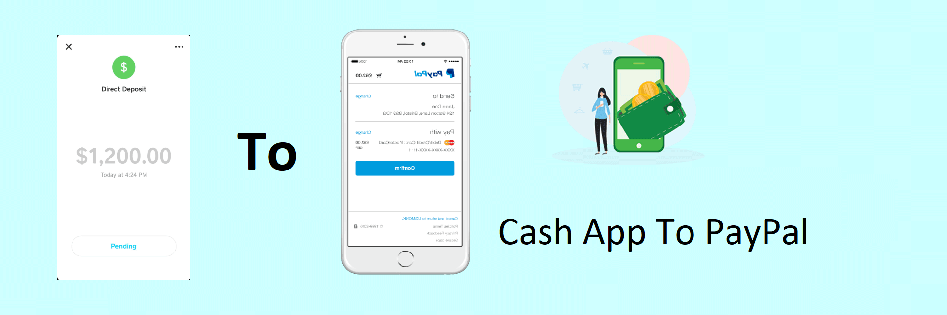 How to send money from the cash app to PayPal?